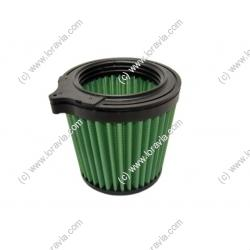 Air filter for intake silencer